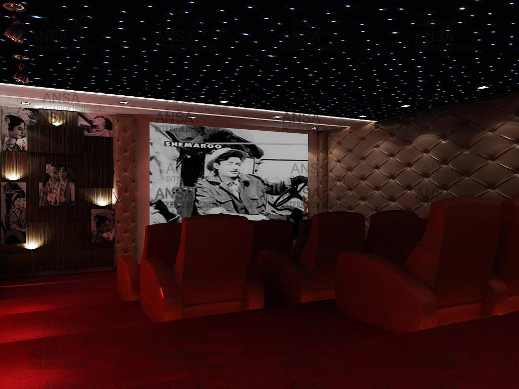 Home Theatre Interior Design | Home Theatre Interior Design 6 Ansa Interior Designers