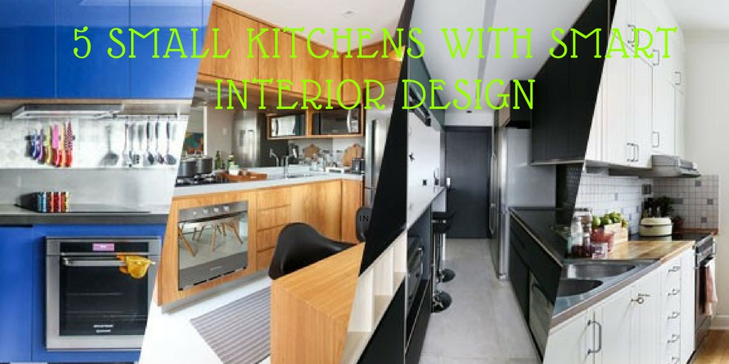 Small Kitchen With Smart Interior Designs