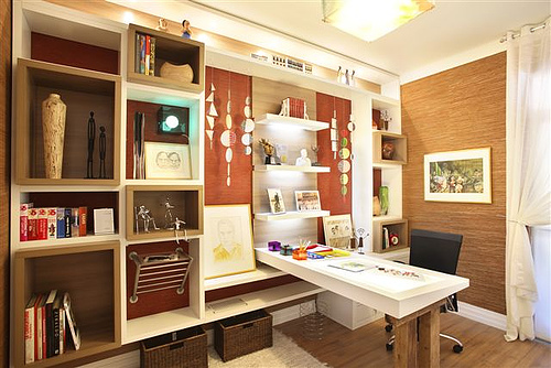 Home Office Models In Decorated Houses (1)