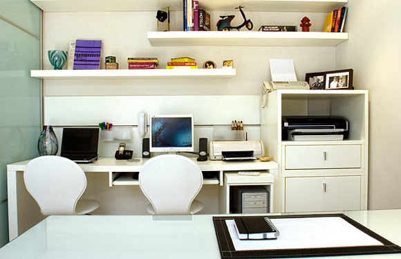 Home Office Models In Decorated Houses (3)