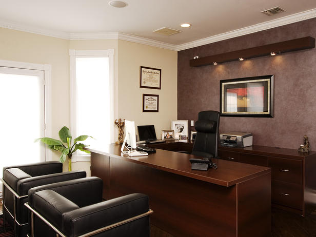 Home Office Models In Decorated Houses (4)