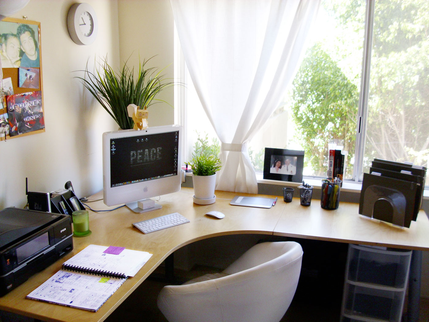 Home Office Models In Decorated Houses (5)