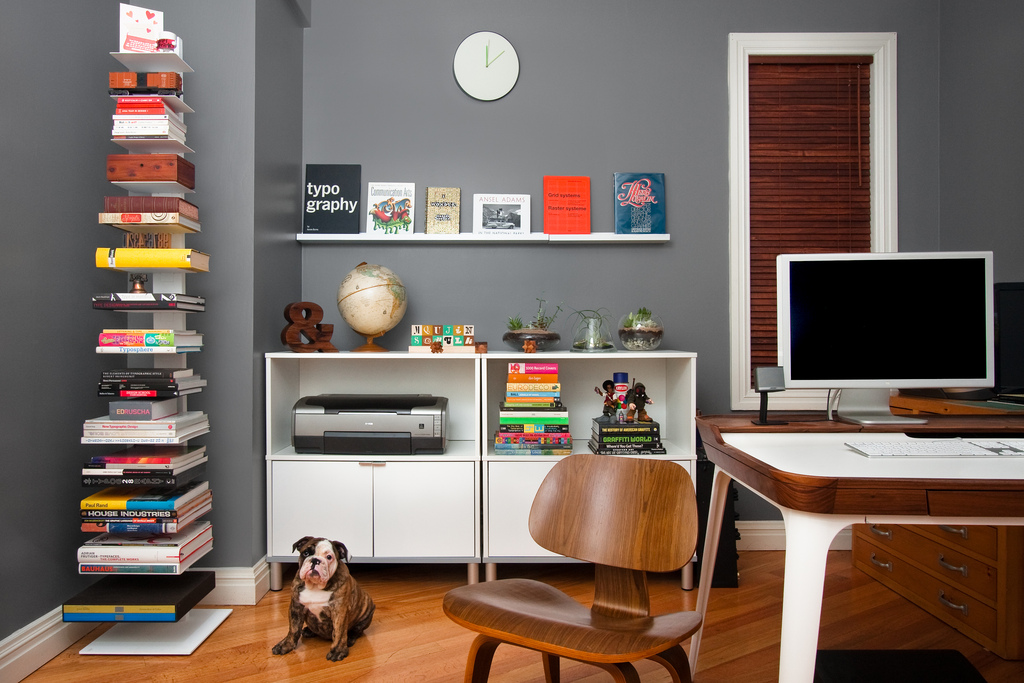 Home Office Models In Decorated Houses (6)