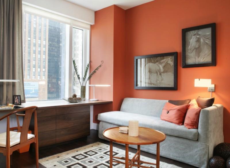 correct orange paint shade