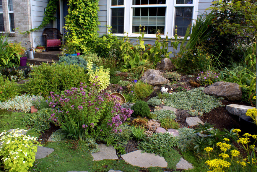 Beautiful Rock Garden In Your Home (26)