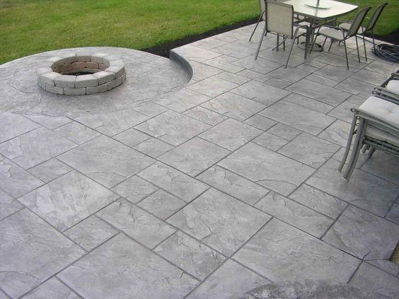 Concrete Exterior Flooring