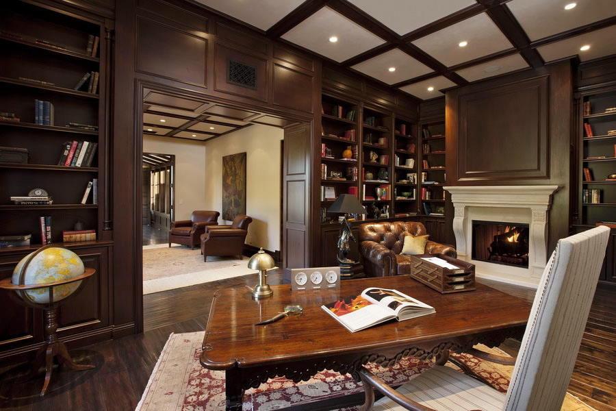 Home Library Decor (12)