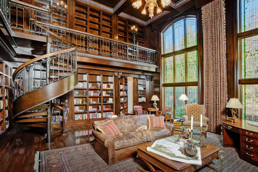 Home Library Decor (5)