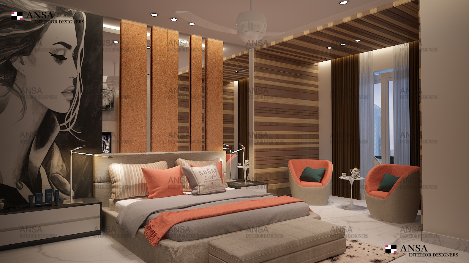 DAGHTERS BEDROOM Interior Design