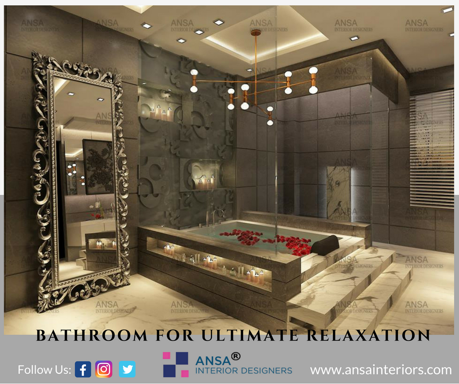 Bathroom for ultimate relaxation.